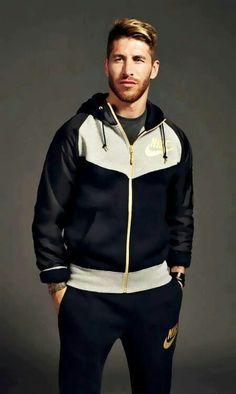 Sergio Ramos for Nike Madrid Football, Best Football Team, Ramos Real Madrid, Look Fashion, Mens Fashion, European Soccer, Soccer Boys, Handsome Actors, Just Girl Things