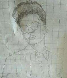 Bruno Mars #drawing