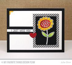 Blueprints 32 Die-namics, Springtime Blooms Stamp Set and Die-namics - Julie Dinn  #mftstamps