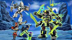 Лего Ниндзяго.Битва Механических Роботов.Игрушки для Мальчиков Ниндзя го...