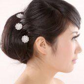 Diadème pas cher Les cheveux pour la mariée prise de la couronne coiffe de fleurs blanches accessoires pour cheveux