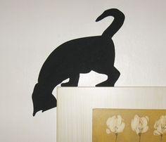 Inquisitive cat, door or picture topper - Rustic Crafts