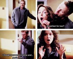 Awkward.... Lol made me laugh<<<<And Christina's reaction after Owen told her was priceless