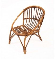 rotin si ge fauteuil enfant kid vintage lucinevintage le retour du rotin pinterest. Black Bedroom Furniture Sets. Home Design Ideas