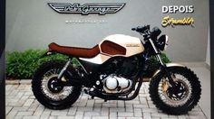 Se formos pesquisar sobre as motos com os melhores projetos de Cafe's, Brat's, etc, aqui no Brasil, com certeza o primeiro lugar será das ...