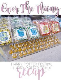 Over The Moony: Harry Potter Festival & Harry Potter Trivia Recap