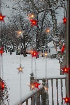 Lighted Porch