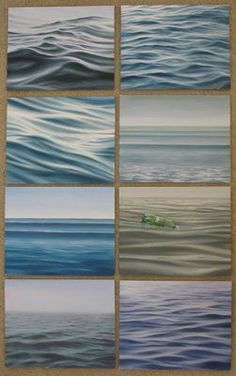 Ebb and Flow: Painting water...