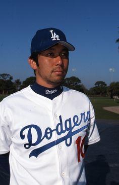 2003 Dodgers pitcher Hideo Nomo