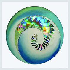 Espiral centrípeta serie ensambles
