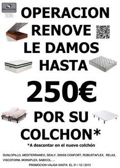 Plan renove de dicciembre en decor colchón