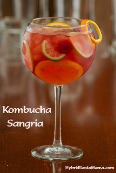 Kombucha Cocktails - Good For Your Gut! Kombucha Cocktails (Midori and Sangria) Kombucha Cocktails - Good For Your Gut! Kombucha Cocktails (Midori and Sangria) Malibu Rum Drinks, Bar Drinks, Yummy Drinks, Beverages, Kombucha Cocktail, Kombucha Tea, Red Juice Recipe, Kombucha How To Make, Cocktails