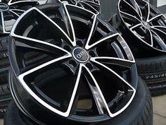 Neu MAM A5 RS Design Audi A3 Modell 8P und Modell 8V 18 Zoll Alufelgen ET 45!