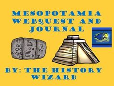 This is a bundle of two great lesson plans on Mesopotamia. The first lesson plan is a great webquest on Mesopotamia from the following website: http://mesopotamia.mrdonn.org/index.html  The same website is used for the second lesson plan.  Students will take notes on Mesopotamia while pretending to be an Egyptian merchant.