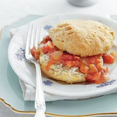 Southern Biscuit Recipes: Cat-Head Biscuits with Tomato Gravy