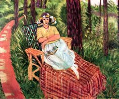 Repose among the Trees Henri Matisse - 1923