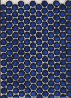 For the bathroom. Cobalt penny round tile. $11.95/sq.ft