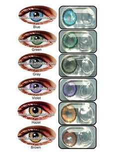 Eclipse wholesale Korea cheap color contacts korean cosmetic 1 year contact lenses $2.5~$4.5 White Contact Lenses, Cosmetic Contact Lenses, Eye Contact Lenses, Prescription Colored Contacts, Colored Eye Contacts, Color Contacts, Eye Lens Colour, Color Lenses, Galaxy Colors