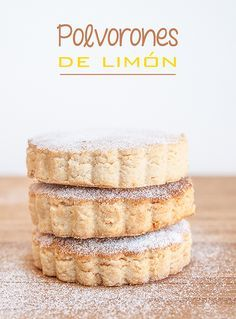 The corner of the desserts: Lemon Shortbread Sweet Desserts, Sweet Recipes, Delicious Desserts, Mexican Food Recipes, Cookie Recipes, Dessert Recipes, Cake Cookies, Cupcake Cakes, Cupcakes