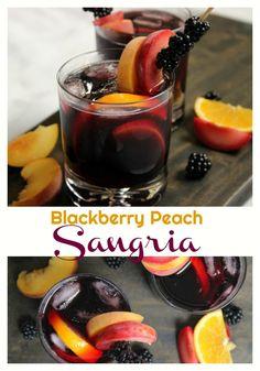 Blackberry Peach Sangria