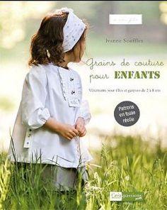 Grains de couture pour enfants, mon premier livre de couture...
