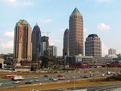 Atlanta GA.  Home of the Braves!