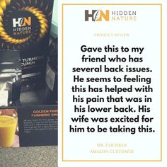 99% from our clients are satisfied with our product. Continue your path into the hidden nature with Hidden Nature Organic Turmeric Curcumin on SALE  on Amazon ➡️ https://goo.gl/1kMhUD