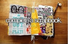 But not just complete it....make it awesome too<< See @Vaniah Castillo  this is just what we want to do this year!!
