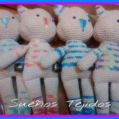 Amigurumi gatito. Michi mini. - Aldea Crochet, Mini, Amigurumi, Kitty, Ganchillo, Crocheting, Knits, Chrochet, Quilts