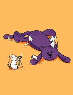 + Ilustração :     Bom dia!!  Uma ilustração animada de Chow Hon Lam, para começar o dia! :)