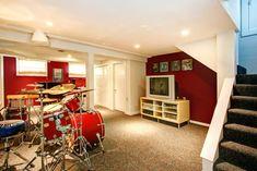 Afbeeldingsresultaat voor basement practice band