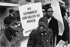 Vietnam era anti-war protesters. Intense.