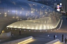 DongDaeMun Design Plaza  #korea #seoul #architecture #DongDaeMun #plaza