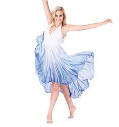 Hi-Lo Halter Dress - Style Number: WC202
