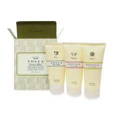 Friend. TOCCA Crema Mani Hand Cream Trio , $20.00 #birchbox