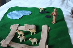 Godly Play - Ideas for story of the Good Shepherd