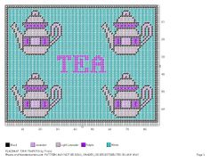 TEAPOT PLACEMAT STYLE 3