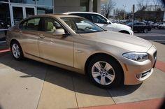 MILANO BEIGE 2013 BMW 5 Series #BMWTOWSON #26958
