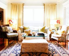 My Houzz: McGeachy Residence - transitional - living room - tampa - Mina Brinkey