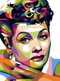 Lucille Ball Digital Art by Stars-on- Art Lucille Ball pop art illustration Lucille Ball, Hollywood Poster, Ball Makeup, Ball Drawing, Ball Hairstyles, Pop Art Portraits, Portrait Art, Pop Art Illustration, Thing 1