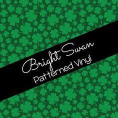 Patterned Vinyl & HTV - St. Patrick's Day - 02 Best Settings, Craft Cutter, Patterned Vinyl, Sheet Sizes, Outdoor Life, All Brands, Heat Transfer Vinyl, Adhesive Vinyl, St Patricks Day