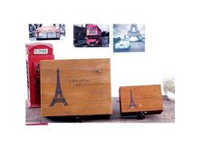 Wood Vintage jewerly Money Cash Box Decoration Home Gift Paris Eiffel Tower Cash Box, Money Box, Thing 1, Paris Eiffel Tower, Wooden Decor, Shopping Spree, Storage Containers, Home Gifts, Make It Simple