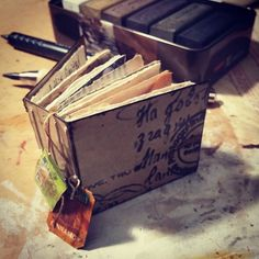 I think it's done #tinyteabagjournal #teabaggirls_pippi #teabaggirls #recycledart #joycevanderlely #mixedmedia #artoninstagram #teabagart Tea Bag Art, Girls Bags, Recycled Art, Things To Think About, Mixed Media, Photo And Video, Artist, Instagram, Recycle Art