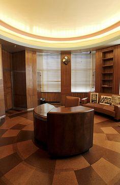 The Former Office Of UnionTerminal Railroad Companys President CincyMuseum Cincinnati