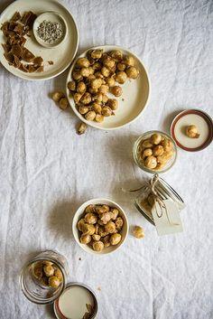 coffee-candied macadamia nuts