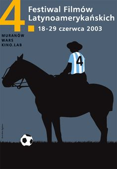 4th Latin American Film Festival, Polish Poster