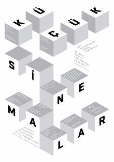 Sarp Sozdinler海报设计作品