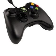 Microsoft Xbox 360 Wired Controller - Black