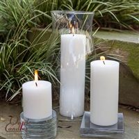 White Pillar Candles - Clean, crisp, smooth, dripless, and clean burning Pillar Candles. Sold in singles or in sets! Church Candles, White Candles, Pillar Candles, Crisp, Home Improvement, Centerpieces, Candle Holders, Smooth, Parties