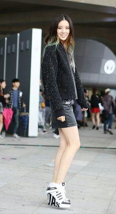 Street-Style / Irene Kim / S/S 2015 Seoul Fashion Week
